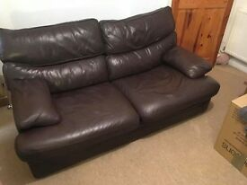 GPlan leather Sofa in good condition