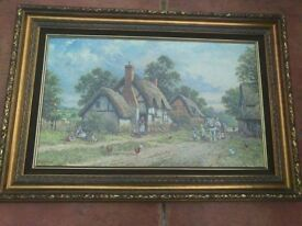 Antique style painting