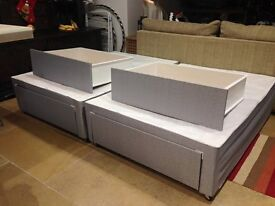 Divan Double Bed with 4 Storage Draws