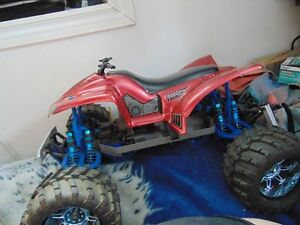 Upgraded RC Emaxx Roller Brushless ready