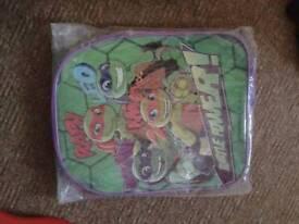 Childs ninja turtles backpack new