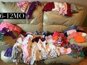 Girl clothes 6-12mo