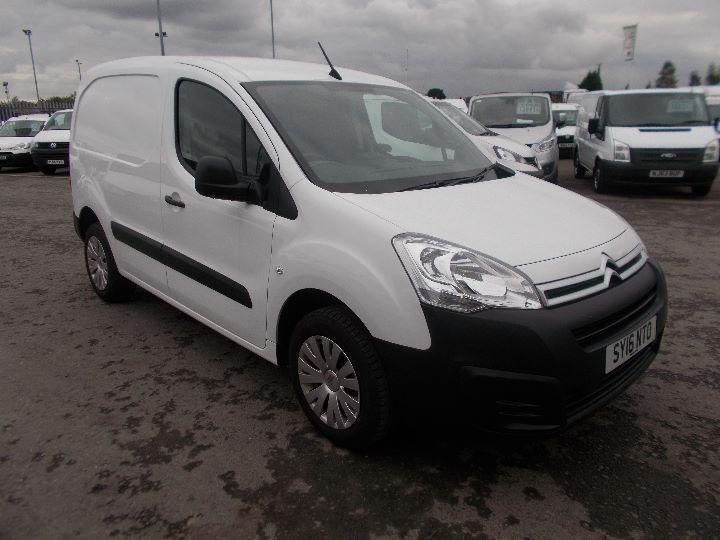 Citroen Berlingo 1.6 Hdi 850Kg Enterprise 90Ps DIESEL MANUAL WHITE (2016)