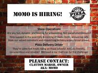 In-store Operations and Delivery Driver Positions Available