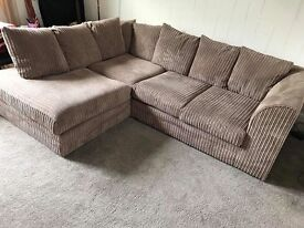L shaped couch and CIRCLE chair
