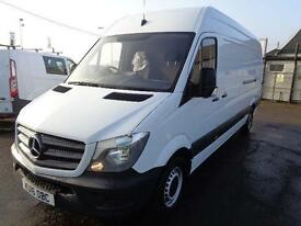 Mercedes-Benz Sprinter 313 CDI LWB High Roof 3.5T Van DIESEL MANUAL WHITE (2016)