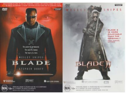 BLADE COLLECTION DVD