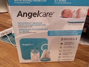 Angelcare movement sensor with sound monitor