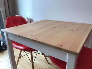 LERHAMN IKEA Table - 4 places for sale