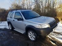 L/Rover Freelander TD4 *4x4*MOT JULY 2018*F.S.H*Removable Roof*Leather*Towbar**Stunning Example