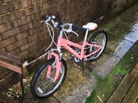 "Trek MT60 20"" girls bike pink"