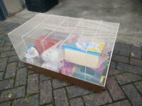 For Sale Large Hamster Cage with Accessories