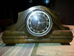 Mantle Clock. working.. can be battery  or changed back to chime. Horsham Horsham Area Preview