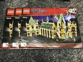 4842 HOGWARTS CASTLE! Harry Potter Lego