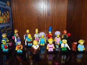 minifigure lego simpsons serie 2 complet