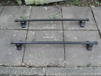 THULE Universal Roof Bars - Very Good Conditions with Keys - RRP £100