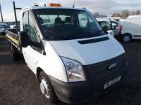 Ford Transit Chassis Cab Tdci 100Ps [Drw] Euro 5 DIESEL MANUAL WHITE (2013)