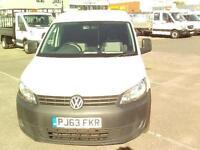 Volkswagen Caddy 1.6TDI 75PS VAN DIESEL MANUAL WHITE (2013)