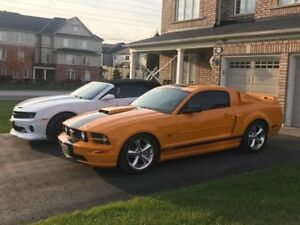 2007 SUPERCHARGED 5 SPD MUSTANG GT!! 54000 KM