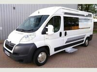 A brand new motorhome conversion - 3 berth with an extremely high standard of finish