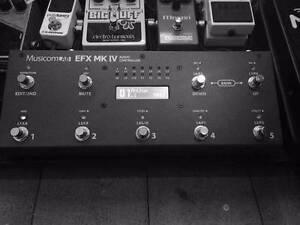 Musicom EFX MKIV switcher Northcote Darebin Area Preview