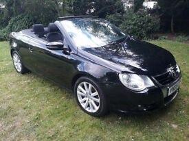 Convertible -- 2009 Volkswagen EOS 1.4 TSI SE Cabriolet 2dr -- Part Exchange Welcome --- Drives Good