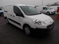 Peugeot Partner 750 S 1.6 Hdi 92 Van DIESEL MANUAL WHITE (2013)
