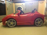 Battery powered Ferrari
