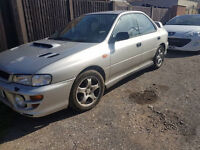 subaru impreza version 5 turbo drives excellent