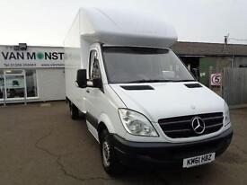 Mercedes-Benz Sprinter 3.5T High Roof Van WITH TAILIFT DIESEL MANUAL (2011)