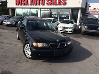 2004 BMW 320i AUTO 4dr Sdn 320i SUNROOF SAFETY ETEST LOW KM LEAT