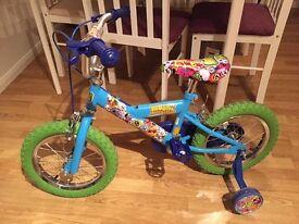 Boys 14inch bike