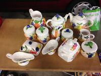 Lovely set of Rayware pottery