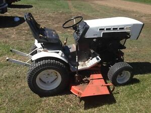 Sears Roper Garden Tractor with mower, snowblower and tiller