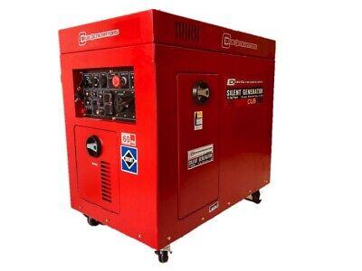 Cub9000 Tri-fuel Silent Generator
