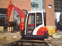 Mini digger hire / woodchipper hire / dumper hire / roller hire / groundworks / aggregate supply