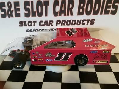 1/24 SLOT CAR BODY IMCA MODIFIED -NEW -CLEAR 2 PC BODY  # 4127
