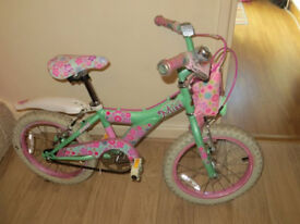 Raleigh 16inch Girls Miss Kool Bike