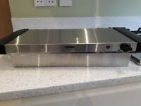 Cooks Professional food buffet warmed and hotplate - new & unused