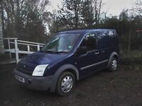 FORD TRANSIT CONNECT T200, 2003 DIESEL TURBO £1000