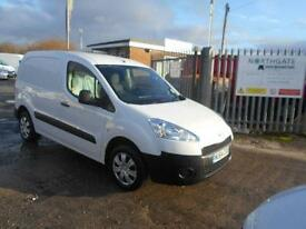 Peugeot Partner 850 Se 1.6 Hdi 92 Van DIESEL MANUAL WHITE (2014)
