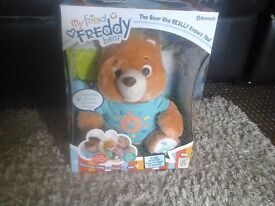 my freddy bear interactive toy brand new