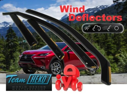 LEXUS NX   2014 -   4.doors  Wind deflectors  4.pc  HEKO  30023