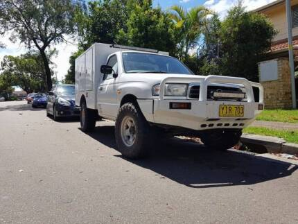 2002 4x4 MAZDA BRAVO - READY FOR WORK OR CAMPING