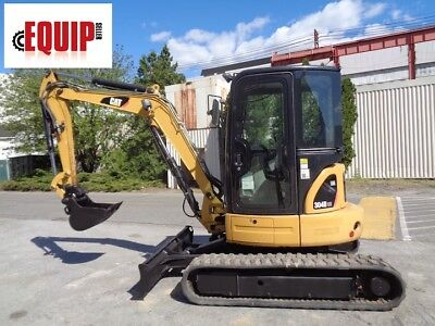 2012 Caterpillar 304dcr Mini Excavator - Auxiliary Hydraulics - Enclosed Cab