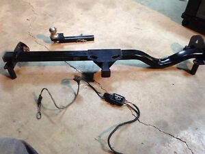 2000 Subaru Outback trailer hitch