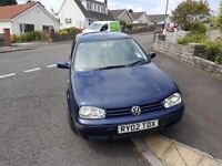 VW GOLF AUTOMATIC VERY CLEAN CAR ONLY 88,000 MILES LONG MOT