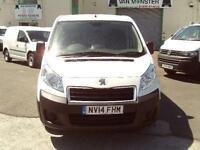 Peugeot Expert 1200 L2 H1 1.6HDI 90ps DIESEL MANUAL WHITE (2014)