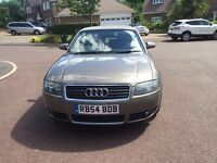 Audi A4 Convertible 1.8T + extras