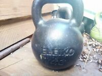 Eleiko Cast Iron Kettlebell 40KG New Cost 186£ Selling for 80£ open to sensible offers